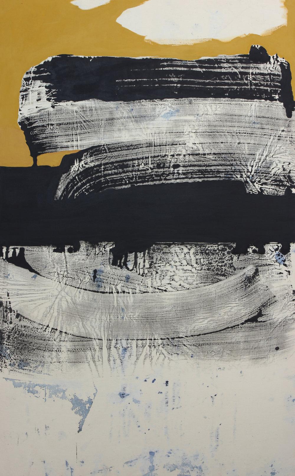 Painting 190/119 cm - Acrylic on canvas