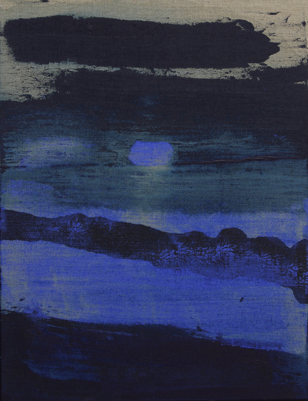 Painting 65/50 cm - Acrylic on canvas