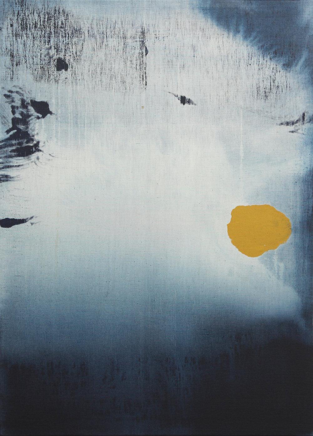 Painting 100/73 cm - Acrylic on canvas