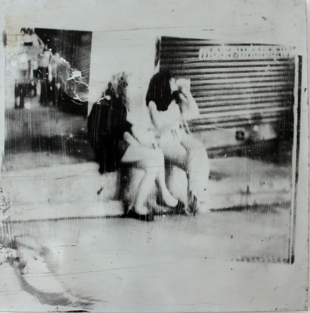 Hollywood Boulevard - 2108 - 78 x 79 cm - Foto emulsie op metaal