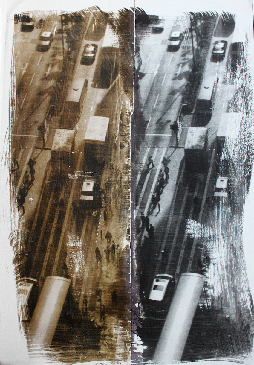 HK Chung mansion - 2018 - 77 x 113 cm - foto emulsie op papier