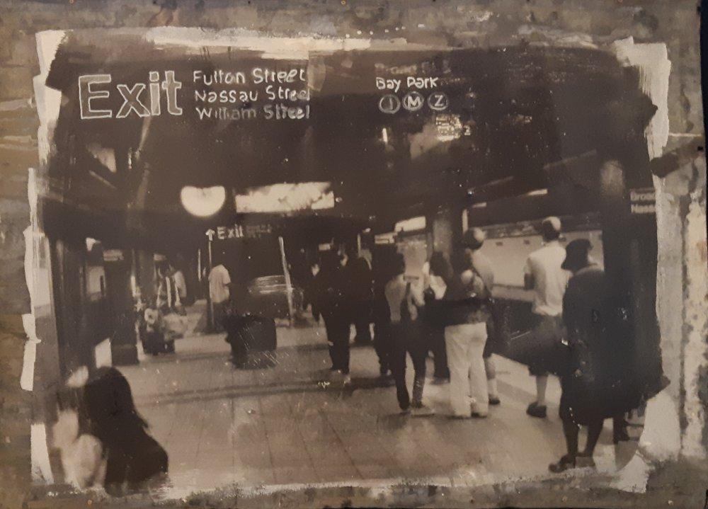Exit - 2018 - Foto emulsie op zink