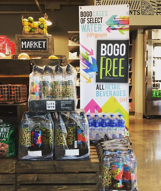 Our #NewYearsresolution is to stay #hydrated! Stop in in for our #BOGO cases of water every Monday all month long! In addition we are offering BOGO bottled beverage EVERYDAY all month long! Stop on in and ask a manager for details! 💧😃👍 #eurestohiovalley #eurestdetroit #compassgroupusa #hydrate #waterislife #stayhydrated #stayhealthy