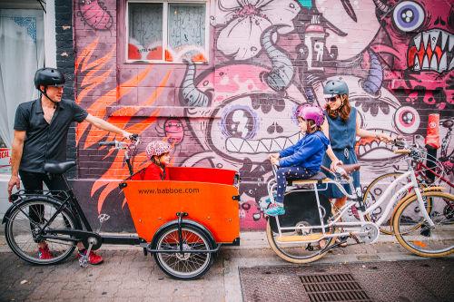 Vélos cargo et enfants -