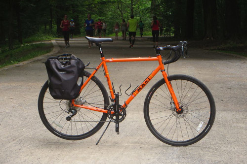 Masi CX comp orange Montreal bike rental