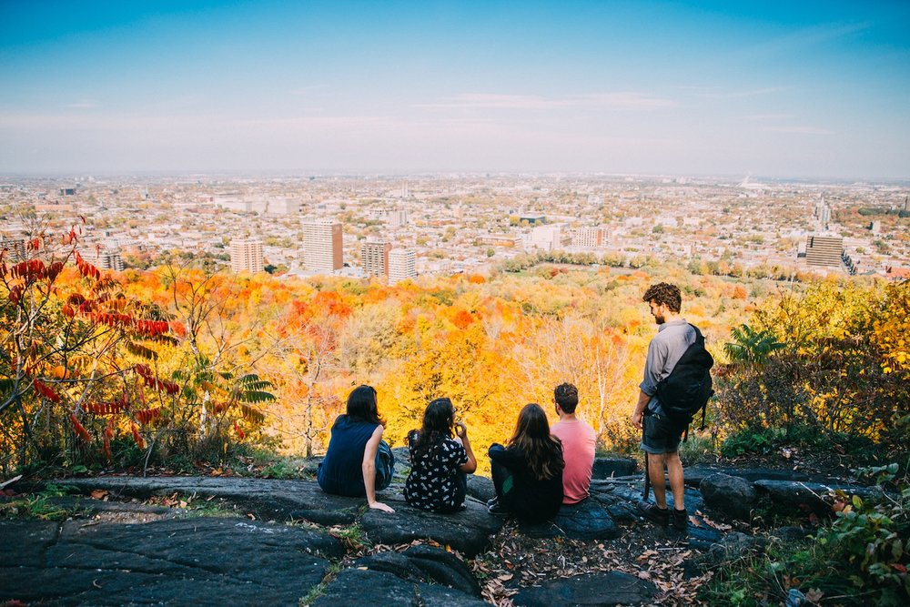 mont royal montreal fitz walking tours