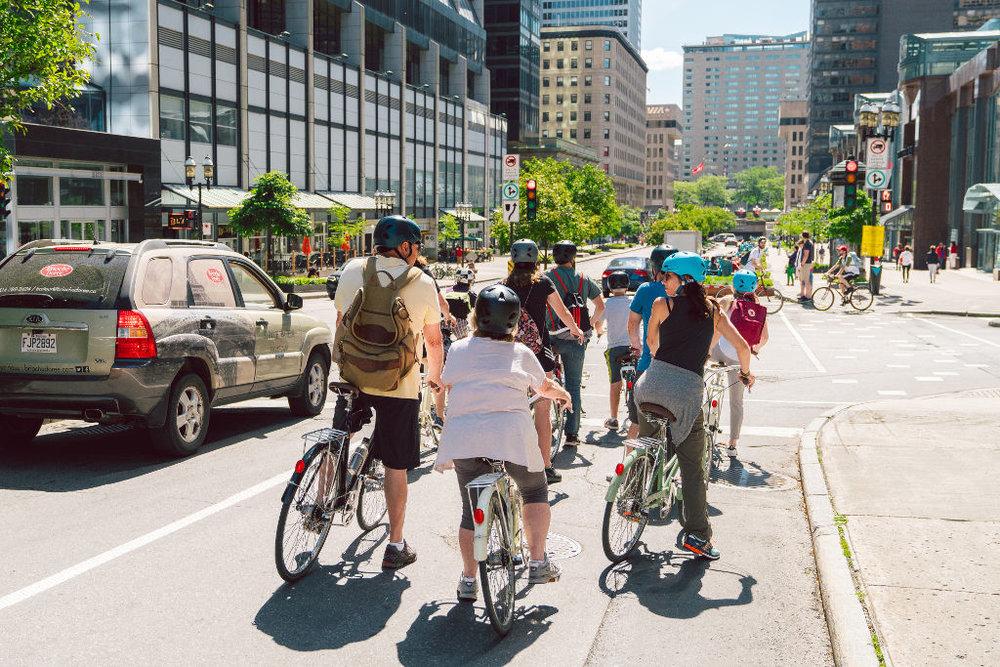 Visite commentée à vélo -