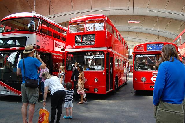 bus tourist