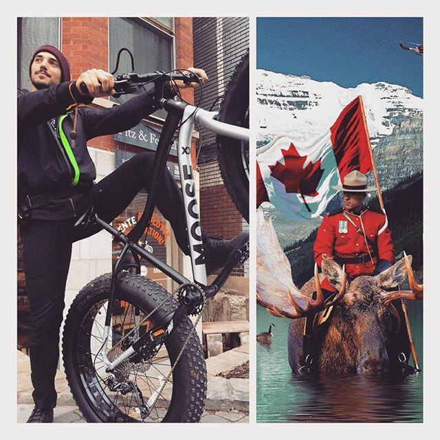 Pretty accurate right ? Pour cet hiver on s'est équipé chez @moosebicycle pour vous emmener sur le Mont Royal et explorer les sentiers de la montagne ❄️. Attachez vot' tuque les amis l'hiver s'en vient !! #staylocal #localysourced #bike4seasons #ohcanada🇨🇦 #moose #ridemymoose #exploremontreal #wedlovetoshowyouaround