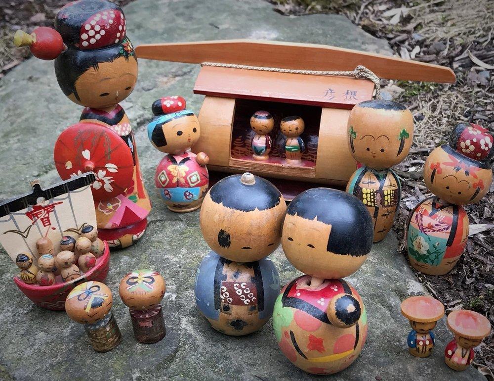 The original kokeshi collection