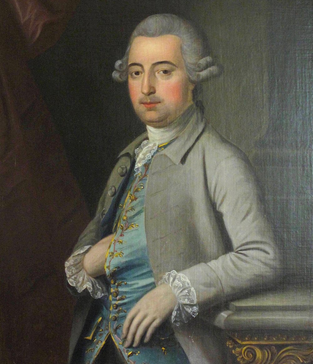A portrait of Thomas Wright attributed to Sir Nathaniel Dance-Holland. Reproduced with the permission of Worshipful Company of Stationers and Newspaper Makers.