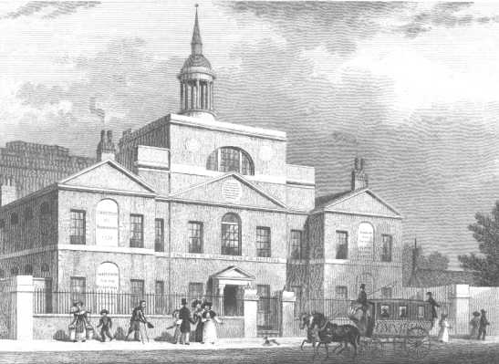 Thomas Wright was President of the City of London Lying-In Hospital