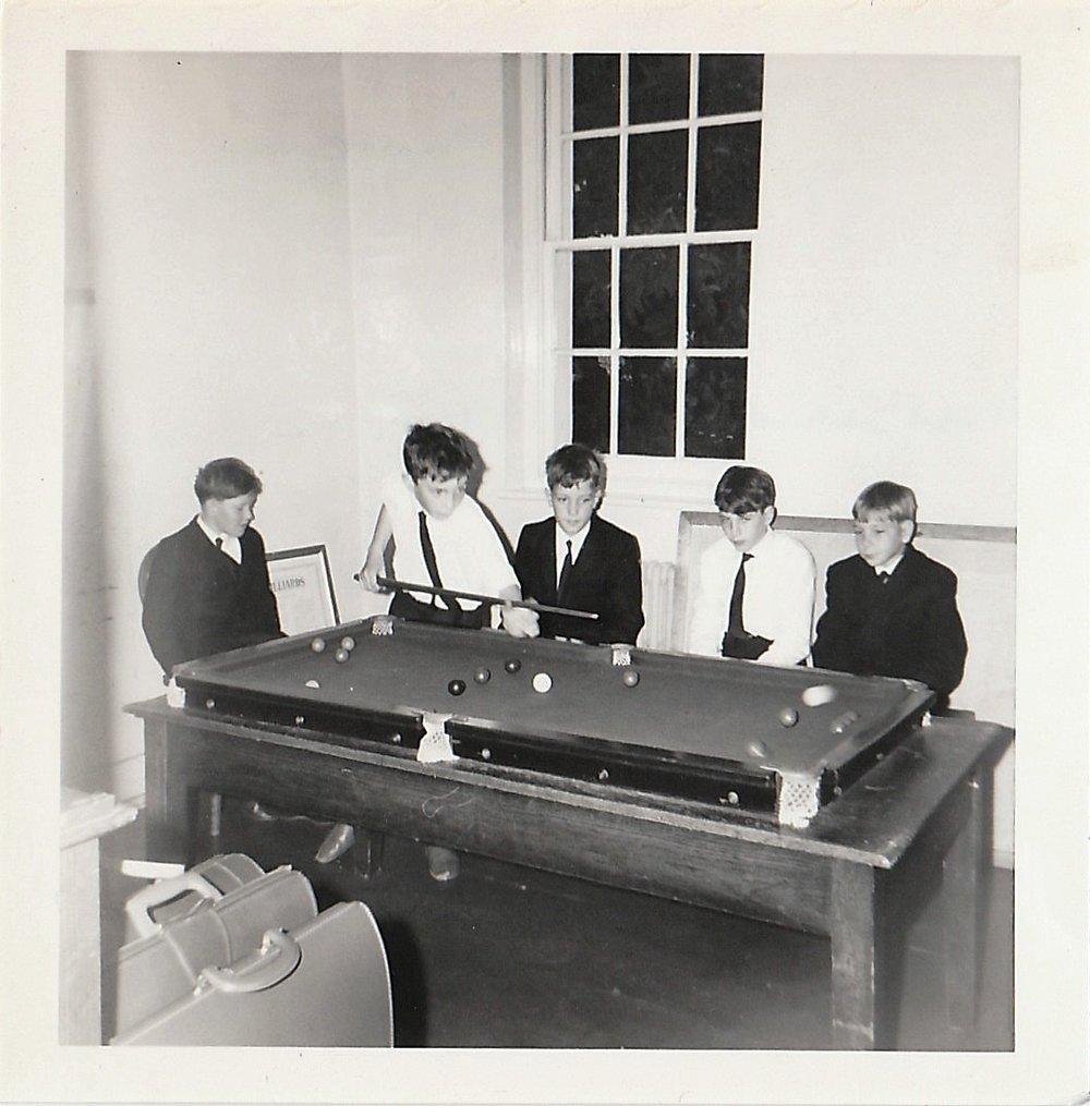 Boys playing snooker. Source: Cheryl Spray