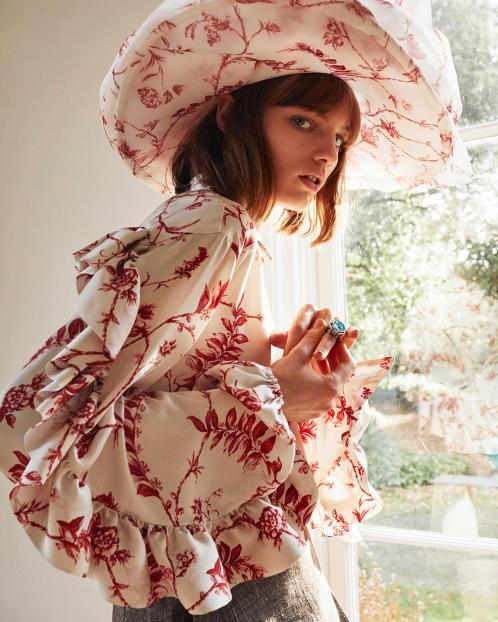 Image from Sunday Times  Style  magazine fashion photoshoot at Bell House.