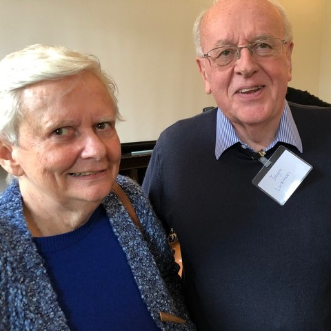 Jolyon and Jean Larkman - participants in our  Learning to Care: Dementia  event at Bell House