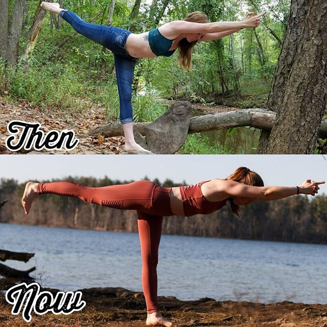 I've been all about getting back to the basics and foundations lately.  Which is why I LOVE this progress picture of @freckled_yogi in a grounding balancing pose, Warrior III.  She's been using my @ab_asanas ebooks for a while now and is always sending me epic transformation photos.  I absolutely LOVE that you can look at her line, from her arms, core and leg, and tell how much of a powerful foundation she's developed.  You don't need to get upside down to use my guides. You don't even have to do yoga! My Expanded and Updated book is all levels and for absolutely anyone to partake in.  So if you are looking to build some functional strength, click the link in my bio to start your journey TODAY. 🤗👆🏼
