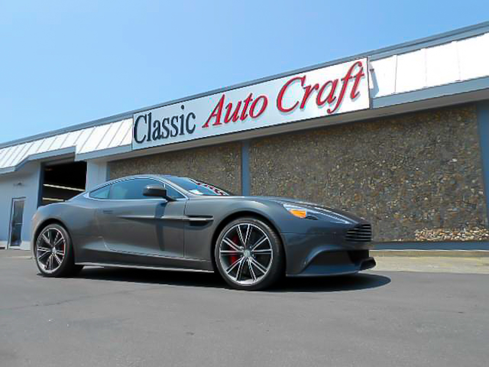 Classic Auto Craft Glasswork & Tinting in Marin County