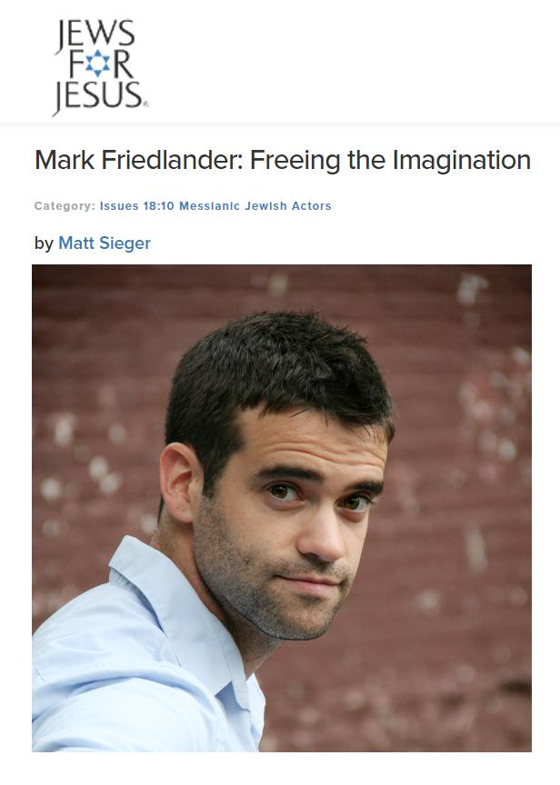 Mark Friedlander J4J