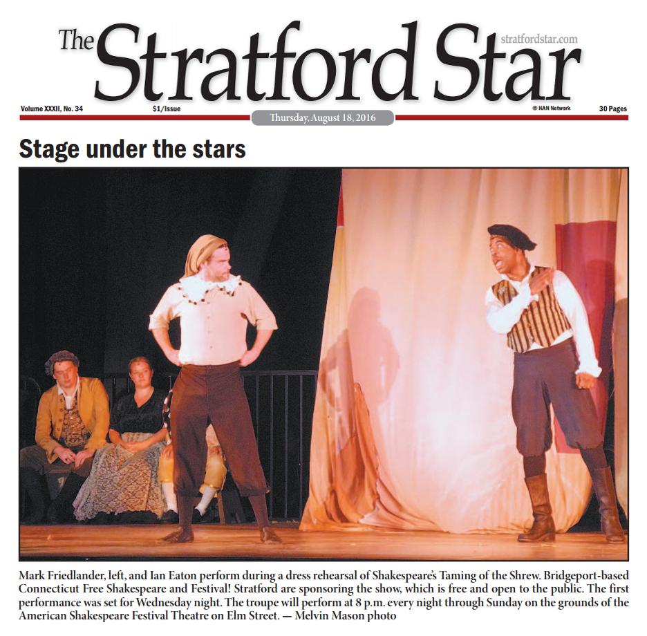 Mark Friedlander Stratford Star Shrew
