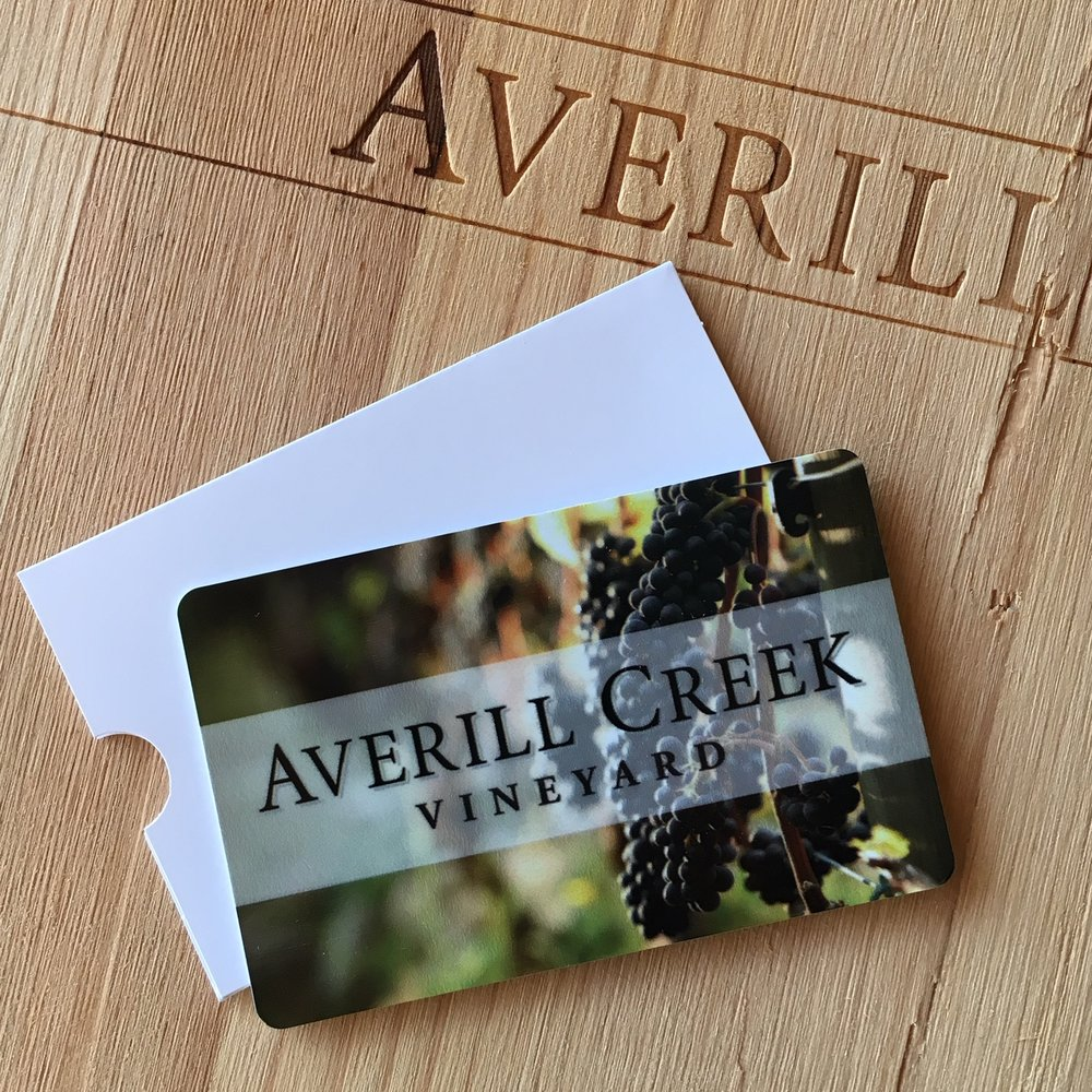 Averill Creek Vineyard Gift Card