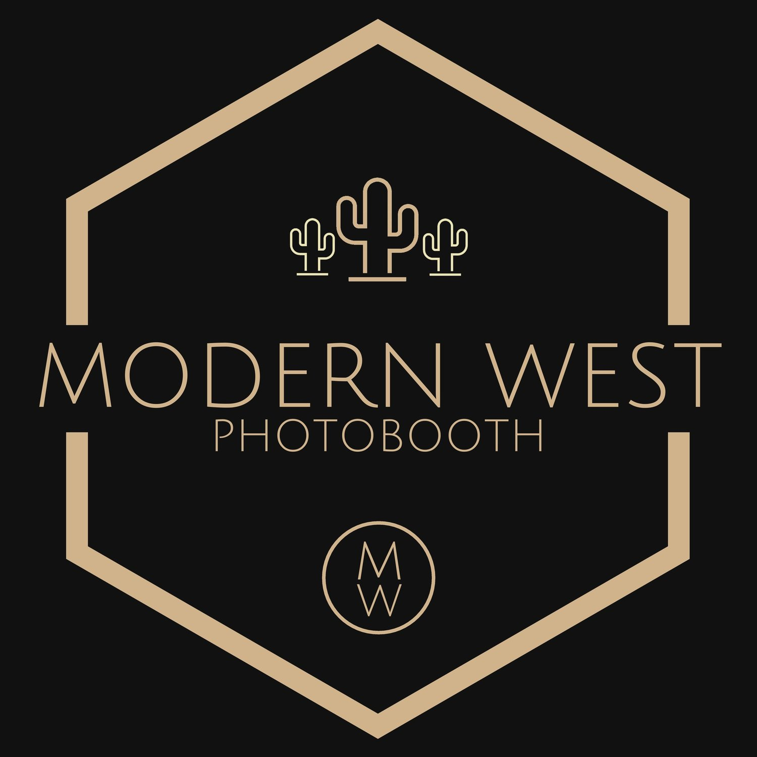 Modern West Photobooth: Custom & Personal - A High-Quality, Open-Air Photo Booth