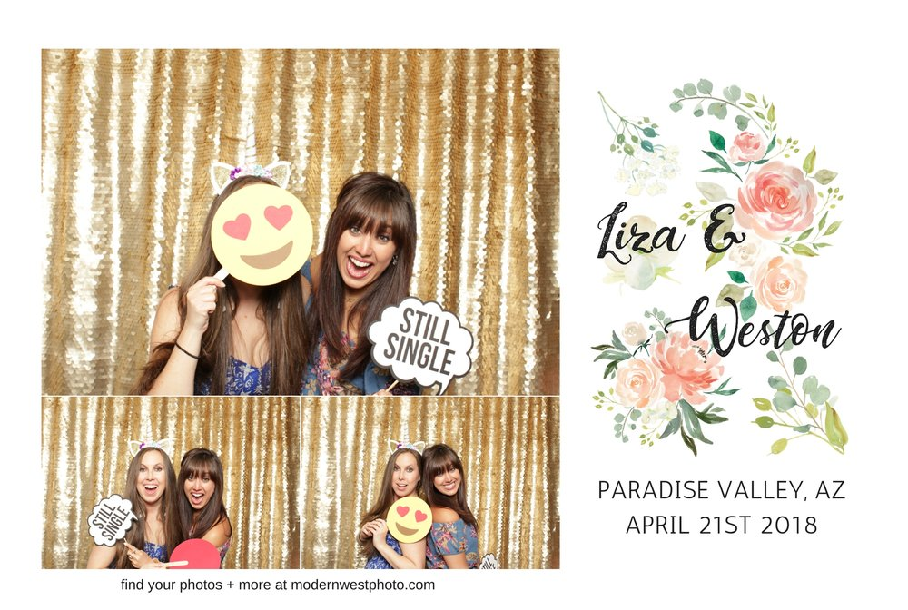 I want to note that these images are from Modern West Photobooth, NOT our wedding photo booth. I can't even bear to post one of those. YIKES.