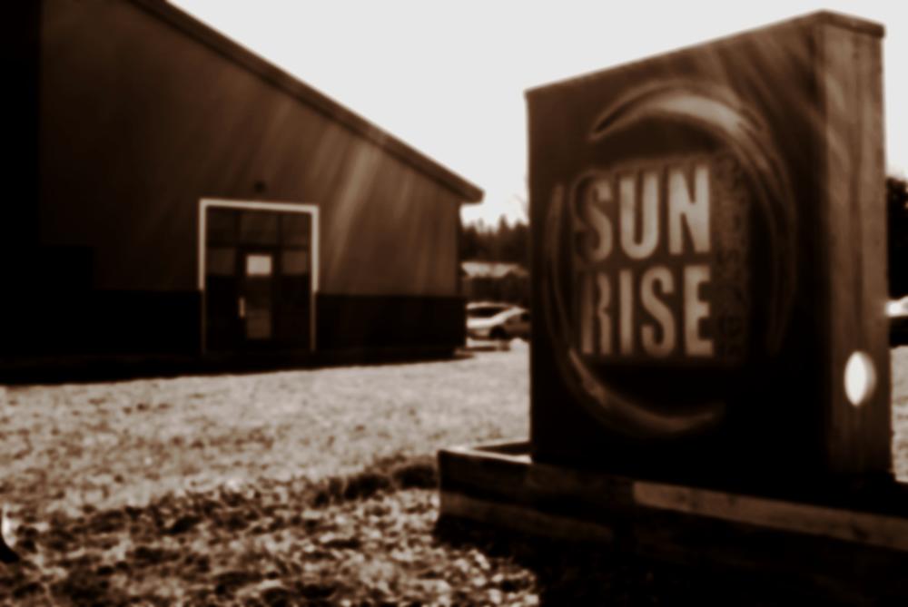 SUNRISE MINISTRIES MEETS SUNDAY AT 10AM - 7754 28th Ave.Jenison, MI 49428OFFICE HOURS:MON-FRI: 9AM—5PM