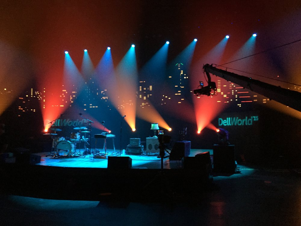 Little Hurricane Dell World event at ACL Moody Theater in Austin, TX.