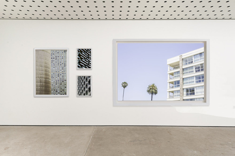 ARCHITECTURE. Right: Apartments on Ocean, overlooking the Santa Monica Bay, California. USA. 2017  Left: Toronto Concrete 2014  Top:Toronto Glass 2014  and Boavista Hatch 2014
