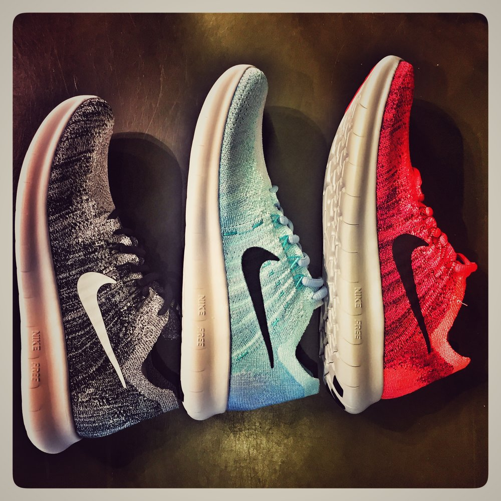 Nike Free RN Flyknit  - my favorite cross trainer and also a running shoe