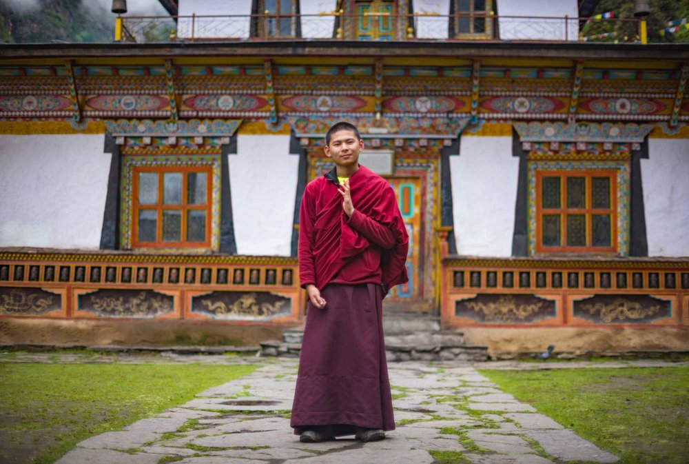 Serang Monk