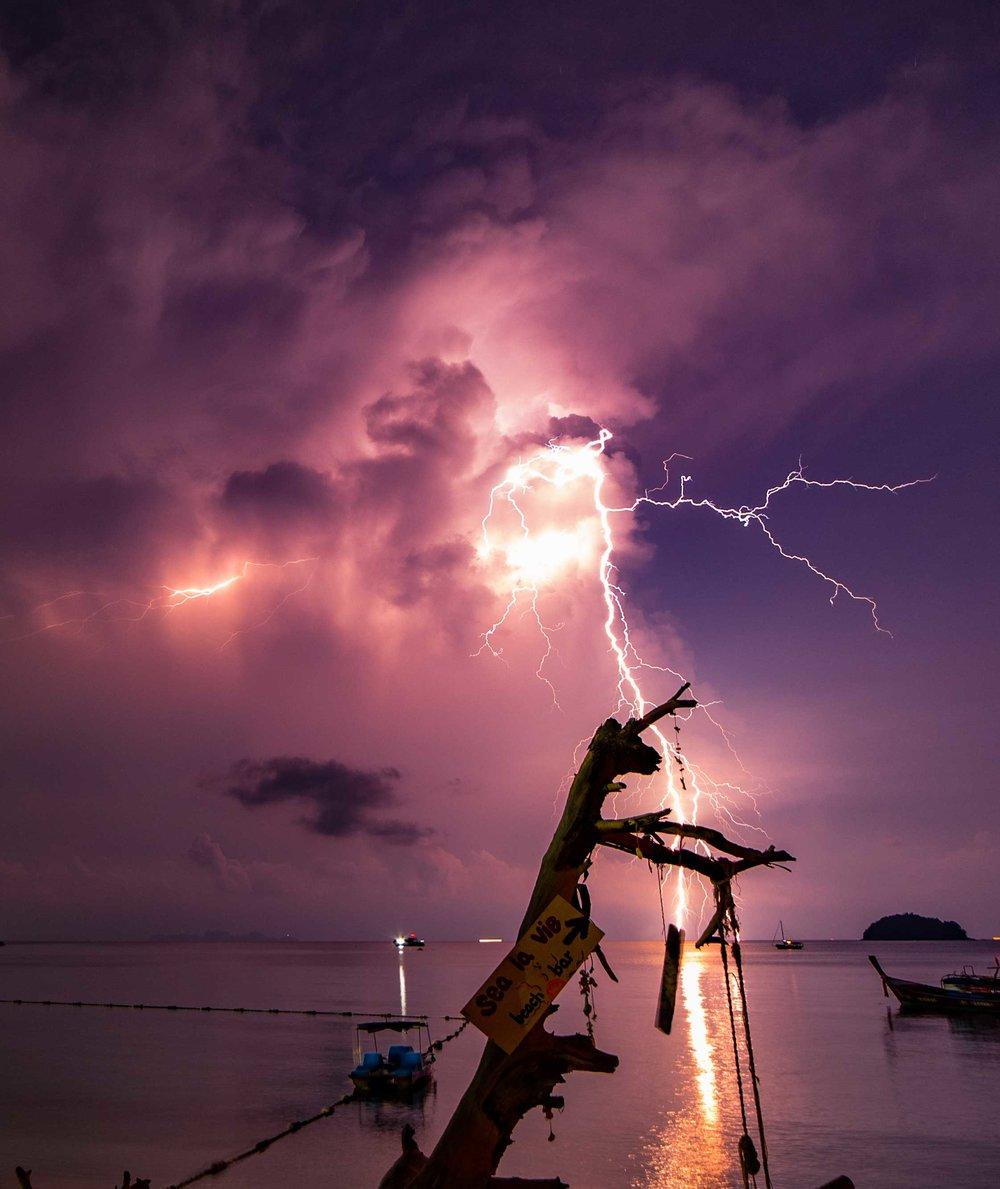 Koh Lipe Lightning