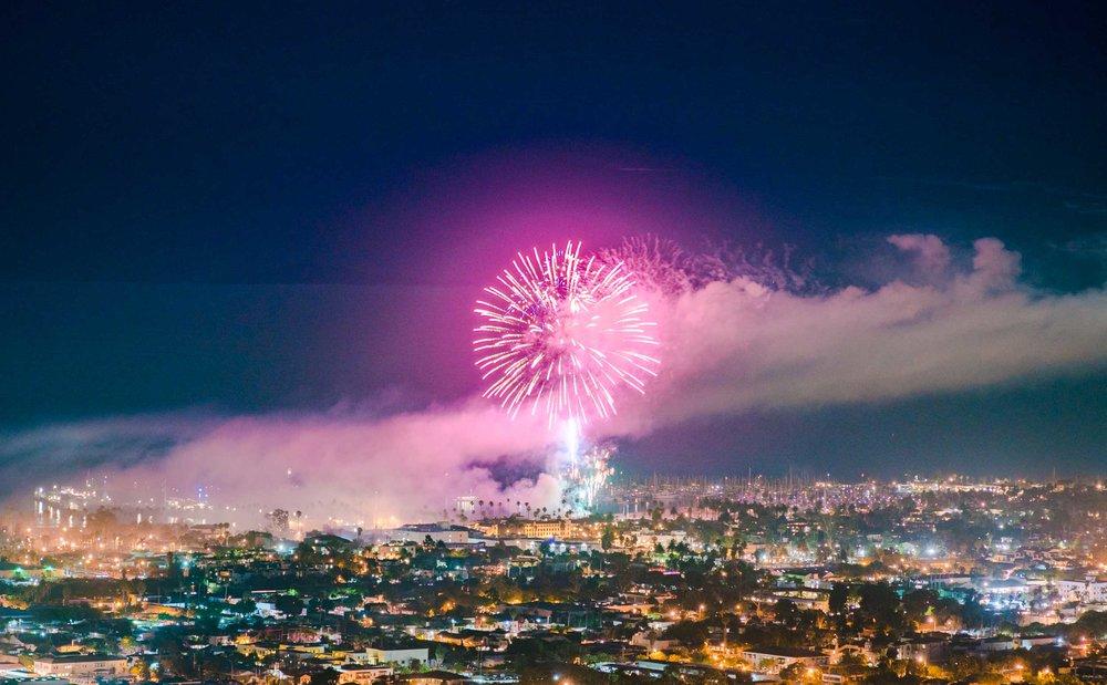Santa Barbara Fireworks