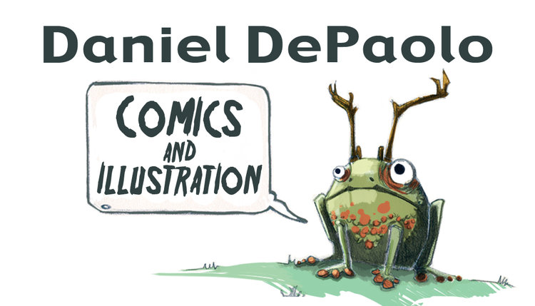 Daniel DePaolo - Comics & Illustration