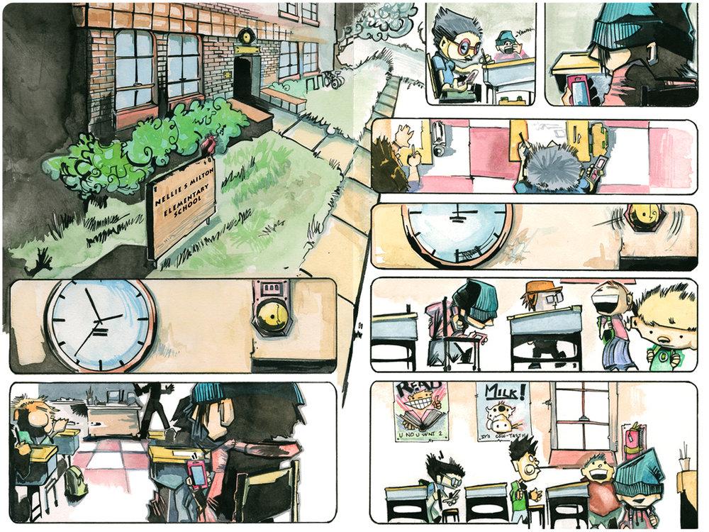 Totem Kids pg. 1-2