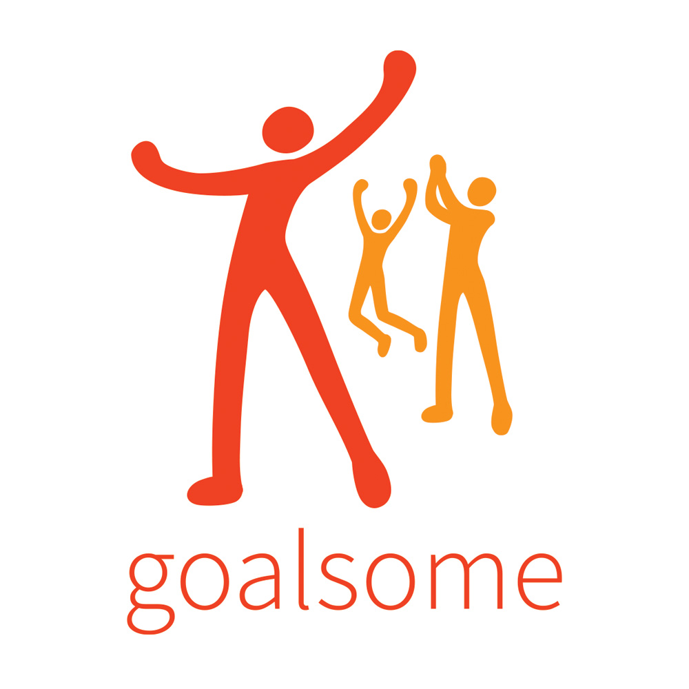 Logo created for a social network centered on helping members achieve their goals