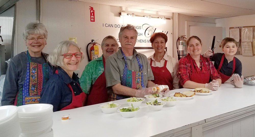 Volunteers at the Kitchen of Hope in Kingsport