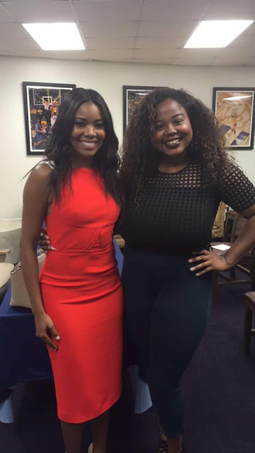 Channyn & Gabrielle Union at Lectureship in Value & Ethics Press Conference