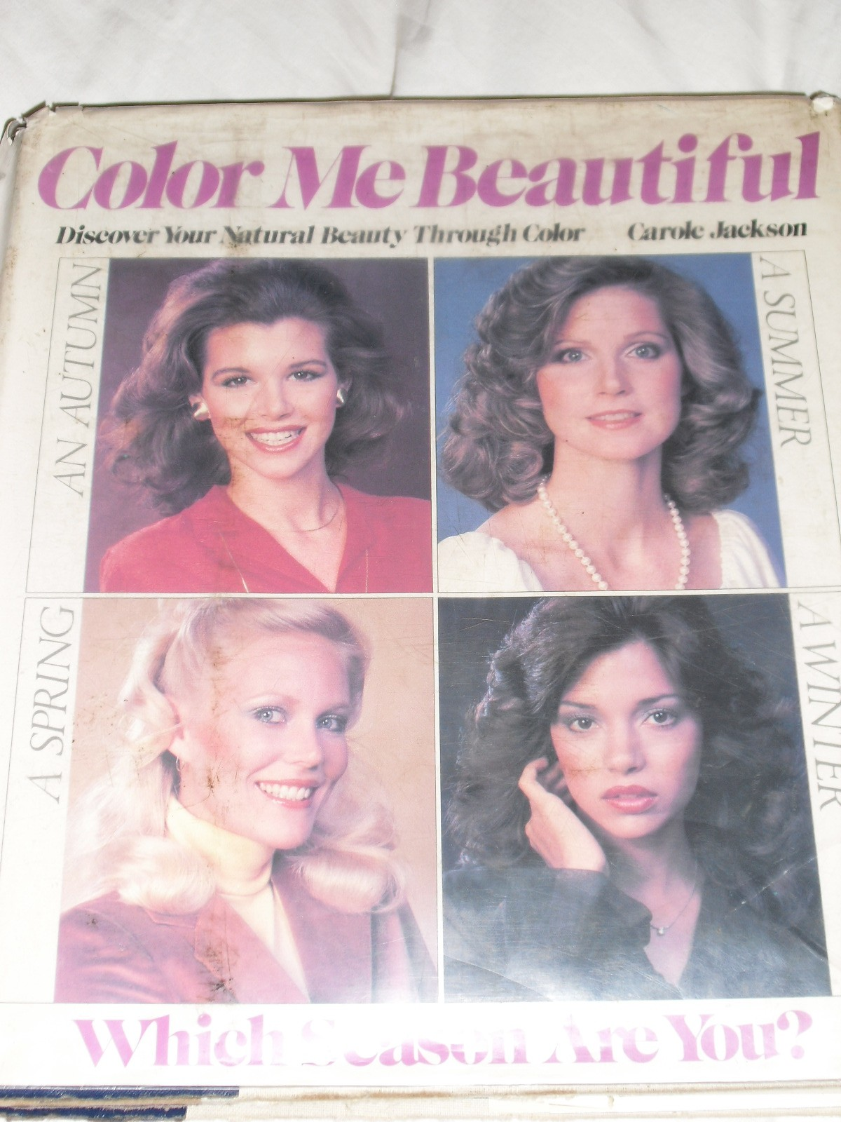 Book cover for Color Me Beautiful