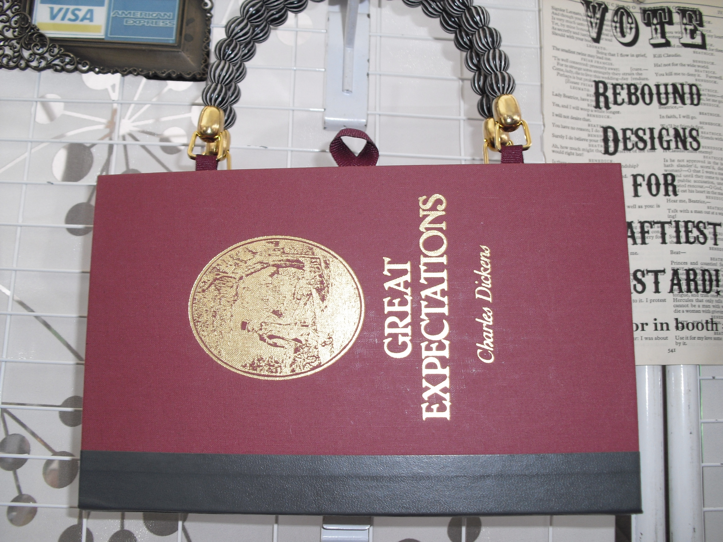 Great Expectations Book Purse