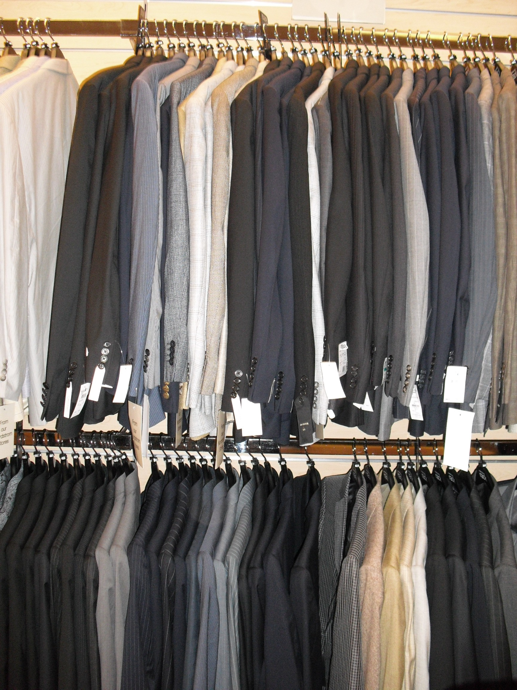 Suits at Nordstrom Rack