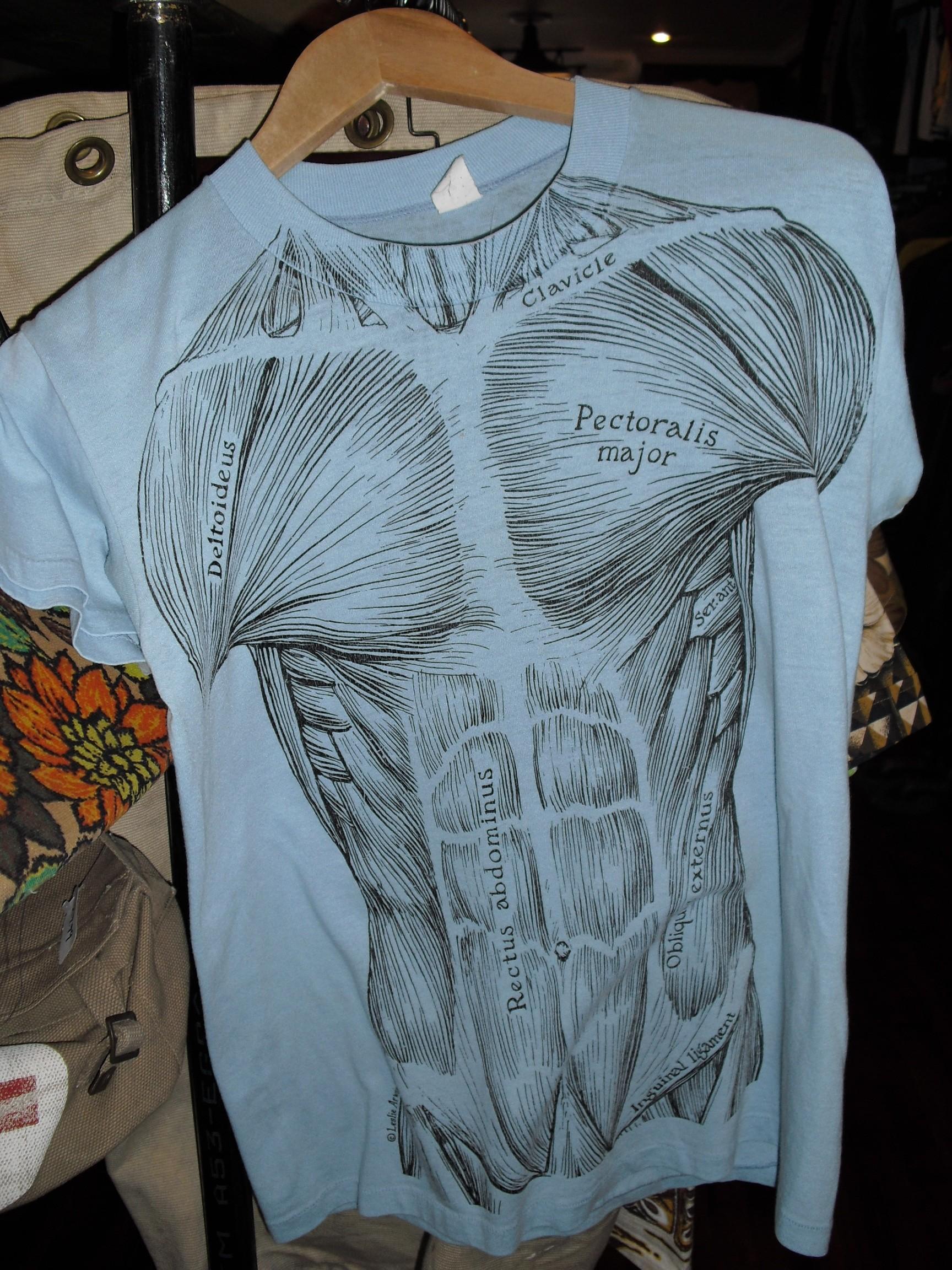 Men's blue tshirt