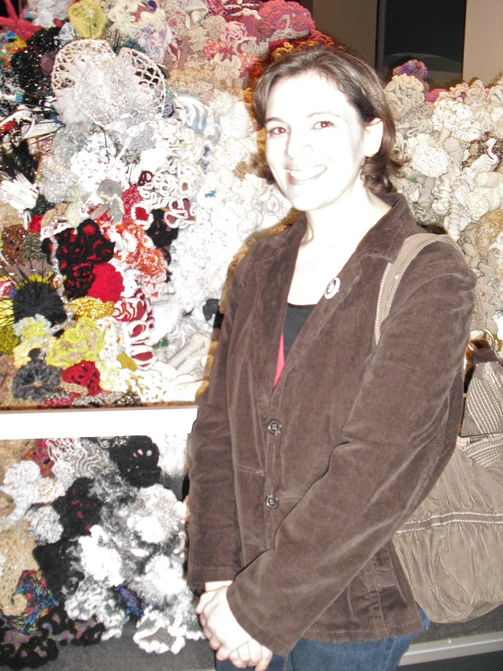 Picture of crochet artist Jamie Roberts