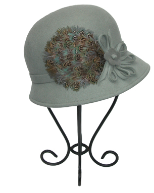 Blue Hat from DC Boutique Proper Topper