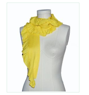 Yellow Scarf from Treat Boutique