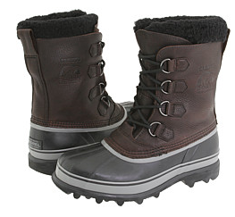 Brown and Grey Boot