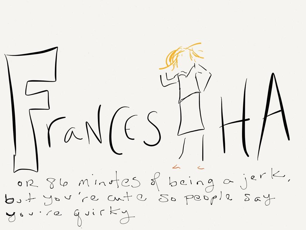 Frances Ha Movie Illustrated