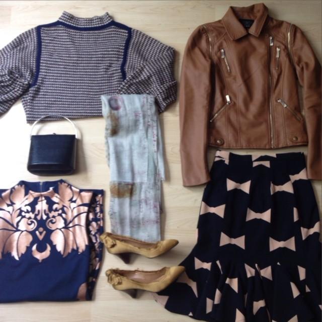 Winter Wardrobe Collage