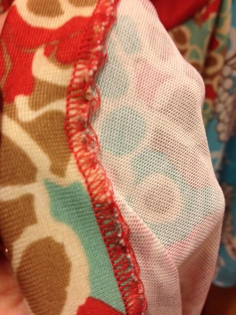 Stitching of DVF Dress
