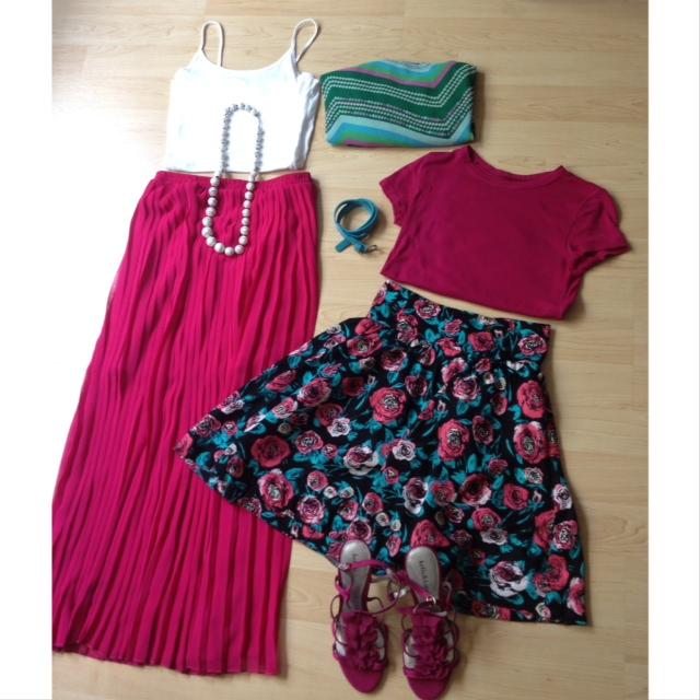 Summer Wardrobe Collage